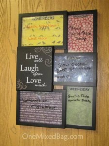 Diy Dry Erase Board One Mixed Bag